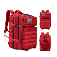 JUNYUAN Red Military Tactical Medical Bag Military Duffel Bag For Outdoor