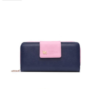 JUNYUAN Women's Long Clutch Large Capacity Wallet Card Holder Lady Purse