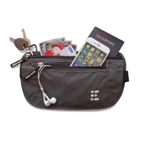 2 in 1 Multi-function RFID Blocking Travel Waist Bag