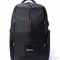 17.3 Inch Large Capacity Waterproof Lightweight Laptop Backpack Bag with USB Port