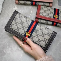 JUNYUAN 2019 New European And American Fashion GD Letter Ladies Wallet