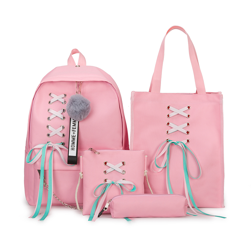 Hot Sell Student Girls Backpack School Bag Fashion Children School Bag