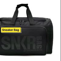 JUNYUAN Wholesale High Quality Dropshipping Sneaker Travel Duffel Bag With Shoe Compartment