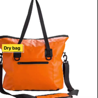 Hot Saling Outdoor Sport Fashion Shoulder Handbag Tote PVC Tarpaulin Bag With Shoulder Strap
