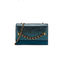 JUNYUAN 2019 New Women's Tote Hand Bag Fashion Sequined Small Square Lady PU Fashion Handbags For Lady
