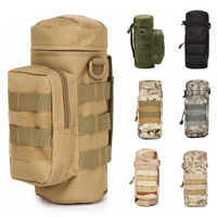 Outdoor Multi-function Hydration Bag Camouflage Waist Water Bottle Bag for Hunting Camping Hiking