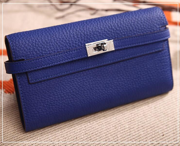 Genuine Leather Long Wallet Hand Bag New Design For Woman