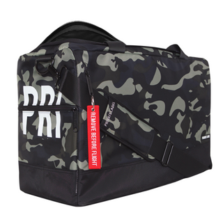 Waterproof Nylon Unisex Outdoor Travel Bag Gym Bags with Sneaker Compartments Inner Laptop Compartment