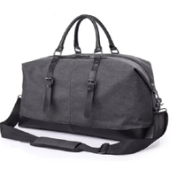 Men's Fashion Trend Tote Bag Large Capacity Excursions Travel Shoulder Crossbody Bag