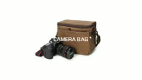 JUNYUAN Vintage Multipurpose Video Camera Bag Storage Bag Case Camera Shoulder Bag Dslr