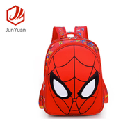 JUNYUAN Shape of a spider Printed 3D Cartoon Child Cute Backpack