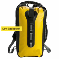 Ocean Dry Bag Waterproof Backpack With Telphone Pocket