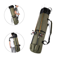 JUNYUAN Fishing Rod Tackle Carrier Storage Bag for Father