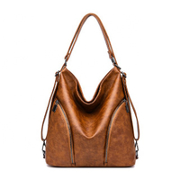 JUNYUAN Women's Soft Genuine Leather Handbag Large Capacity Single Shoulder Bags