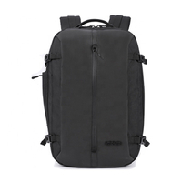 15.6 Inch Laptop Bag School Black College Student Notebook Backpack