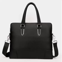 JUNYUAN Office Business High Quality Genuine leather handbag,Briefcase,Laptop Bag For Men