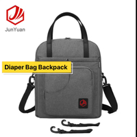 2019 Manufacture New Fashion Small Mother Diaper Backpack Bag